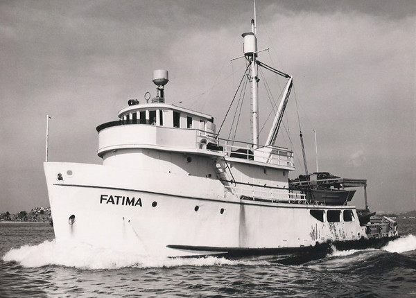 Fatima,San Padre,Built 1946 Newport Beach,Pic ,Taken About 1953,