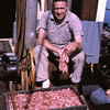 Paul Webber Sr,Shrimping Puget Sound on Emma,Owner George Sumption,Pic Taken 1964,