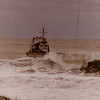 Salvage Chief,Sending Messenger Line To Grounded Vessel,