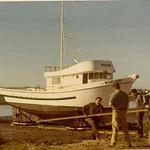 Warlord,Launching 1971 Moss Landing,Bob_Mason,Builder Martin Allen,
