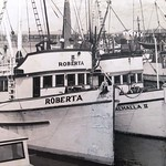 Roberta Built 1944 Seattle  Irving Stamnes  Ronald Schnell  Valhalla II Built 1945 Columbia Boat Astoria Builder Matt Tolonen Owner Veikko Romppanen Pic Taken late 50's  Roberta lost 1963 al ...
