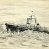 Drawn By Ken Dowdy,10-3-1964,Salvage Chief,