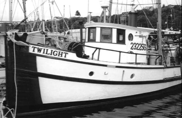 Twilight  Built 1933 Fishermens Terminal  Hansen Seattle  Victor Anderson  Alfred Wold  Al Graham
